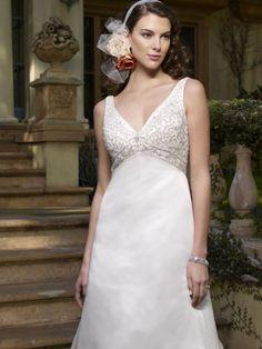 Casablanca Bridal 1961 :: boho wedding dress
