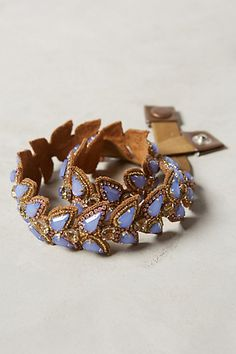 Jeweled Scallop Belt #anthrofave #anthropologie
