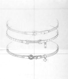 Pedro Cruz Jewelry Design Drawing, Gold Jewellery Design, Sea Glass Jewelry, Copper Jewelry, Gem Drawing, Hanging Jewelry Organizer, Jewelry Illustration, Jewellery Sketches, Jewelry Sets