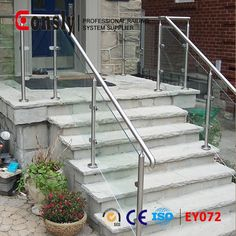 Balustrades & Handrails, Stainless steel Baluster post glass railing, View glass railing, EONSLY Product Details from Guangzhou Eonsly Imp. & Exp. Trading Co., Ltd. on Alibaba.com