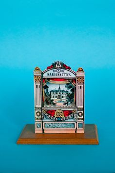 Miniature paper theater (Teatro toy ) Ancient theater by LeMuf on Etsy https://www.etsy.com/uk/listing/185131189/miniature-paper-theater-teatro-toy