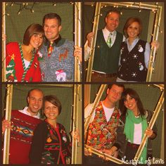 """Nestful of love: Tacky Christmas Sweater Party!  Needing ideas for a FUN Ugly Christmas Sweater Party check out """"The How to Party In An Ugly Christmas Sweater"""" at Amazon.com"""