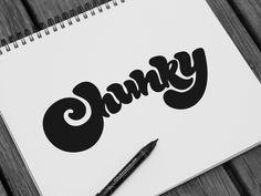 Chunky Type
