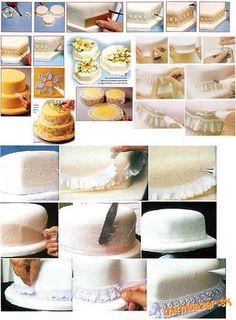 Tipy a triky na zdobenie torty