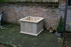 Steigerhout Plantenbak Tuva - Steigerhout Furniture | Unieke steigerhouten meubelen & tuinmeubelen op maat gemaakt!