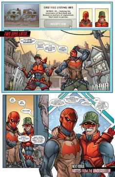 red hood and arsenal -