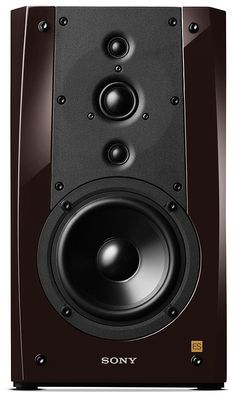 Sony SS-NA5ES. 5.25 in aluminum cone woofer (2), 0.75 in textile dome tweeter (2), 1 in textile dome tweeter; 8.13 x 14 x 12.88 in (WxHxD); 22 lb