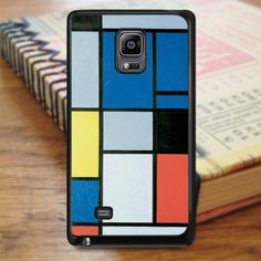 Piet Mondrian Full Colour Samsung Galaxy Note 4 Case