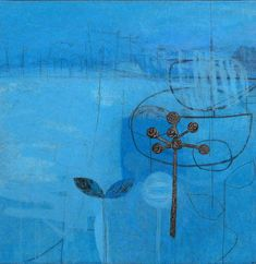 Spellbound, mixed media on canvas, by Maggie Matthews at Thompson's Gallery Uk Landscapes, Landscape Paintings, Color Shapes, Mark Making, Mixed Media Canvas, Great Love, Minimalist Art, Line Drawing, Poppies