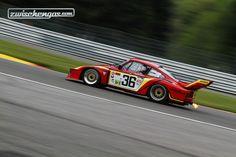 Porsche 935 (1978) an der Spa Classic 2015 in der Gruppe der CER.  © FabPetersson Fotografie für Zwischengas