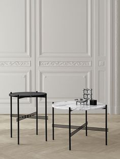 Tables basses TS / Gubi - Gamfratesi http://www.madeindesign.com/prod-table-basse-ts-o-80-x-h-35-cm-marbre-gubi-gamfratesi-ref10022fh-80-w.html