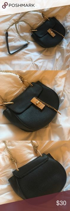 Chloe Drew Dupe Black Chloe Drew Dupe worn a handful of times. In great condition! Bags Shoulder Bags