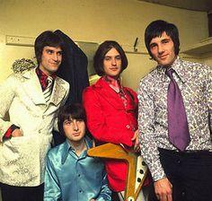 the Kinks ~ Ray Davies, Pete Quaife, Dave Davies and Mick Avory in 1965.