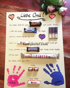 Gifts Ideas For Grandma # Gifts # Ideas - Valentine - # For # Ideas . - Gifts Ideas For Grandma – Valentine – - Diy Christmas Gifts For Boyfriend, Diy Gifts For Girlfriend, Diy Gifts For Dad, Diy Gifts For Friends, Diy Presents, Birthday Gifts For Women, Christmas Diy, Funny Presents, Grandma Gifts