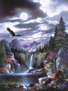 Product Categories James Lee | Bentley Licensing Group-Moonlit Eagle
