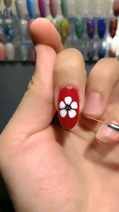Cute Nail Art, Nail Art Diy, Easy Nail Art, Diy Nails, How To Nail Art, Hallographic Nails, Nail Art Designs Videos, Nail Art Videos, Nail Designs