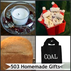 503 Homemade Gifts for Family