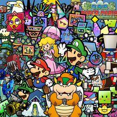 Super Paper Mario- O meu jogo preferido!