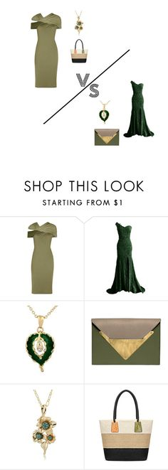 """""""Olive VS Emerald"""" by ishowyoushowhy on Polyvore featuring Givenchy and Dareen Hakim"""