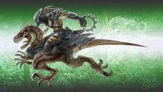 Predator Velociraptor by clemper on DeviantArt