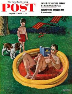 Wading Pool – Amos Sewell Even if one size doesn't fit all, when the kiddie pool is the only escape from August heat, most are willing to make due. You snooze, you lose.