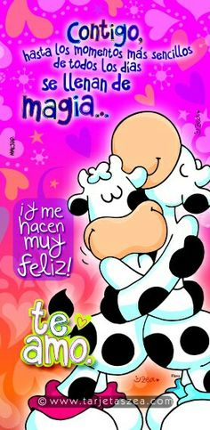 Cesar y Mary Love Is Comic, Cute Messages, I Really Love You, Spanish Memes, Live Happy, Sweet Couple, Love Images, Pumps, Love Cards