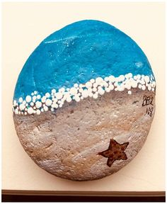 Rock Painting Patterns, Rock Painting Ideas Easy, Rock Painting Designs, Paint Designs, Pebble Painting, Pebble Art, Stone Painting, Stone Crafts, Rock Crafts