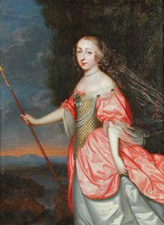 Louise-Françoise de La Baume Le Blanc, Duchesse de La Vallière - (1644 – 1710) fut une des maitresses du Roi de France  Louis XIV