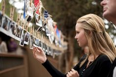 Create a photo storyboard of your loved one's life that can be displayed above a memorial table or at the location of a celebration of life. #loveliveson