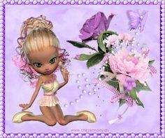 Tag d'été animé 2 - Créations Armony Tinkerbell, Disney Characters, Fictional Characters, Creations, Fairy, Cartoon, Disney Princess, Image, Cartoons