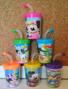Mickey Mouse Clubhouse Party Favor Cups Minnie by PartyFavorCups www.PartyFavorCups4u.com