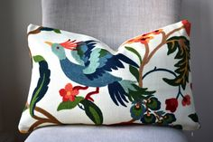 Decorative Throw Pillow, 14 by 20 inch and other sizes available, Richloom Lucy Eden Fabric, (Cover only)