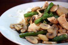 Moo Goo Gai Pan. Photo by Chef floWer