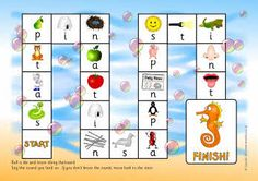 SATPIN phonics board game