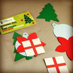 Here's an eco-friendly way to say Happy Holidays - a pack of holiday-themed shapes that all grow wildflowers. Just plant the pieces in soil and they compost away into flowers. Topper is fully customizable in full color. #seedpaperpromotions #greenpromotions http://www.botanicalpaperworks.com/catalog/promotional-items/01114/christmas-shape-pack