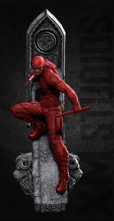 ArtStation - Daredevil for XM-STUDIOS, Mufizal Mokhtar