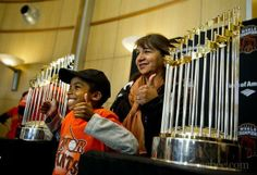 Viewing of Boston Red Sox 2013 World Series Trophy Worcester, MA #Kids #Events