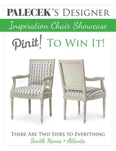 REPIN and VOTE to #win this PALECEK Designer Inspiration Chair featured by @Beth Nativ ~Unskinny Boppy~: http://unskinnyboppy.com/2013/04/there-are-two-sides-to-everything-palecek-chair-contest-and-giveaway/