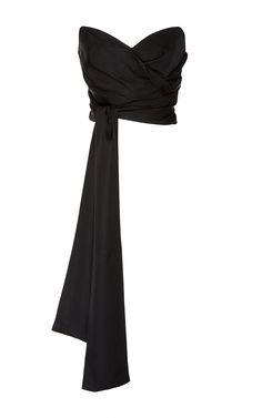 Ambrose Wrap Strapless Bodice by ACLER for Preorder on Moda Operandi