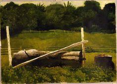 wyeth paintings | Jump - Jamie Wyeth - WikiPaintings.org