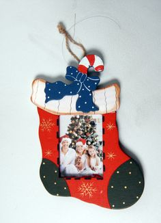 christmas decoration with photos