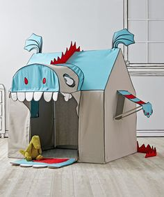 Land of Nod Monster Playhouse | love it, looks like a lot of fun