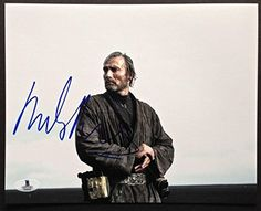 Mads Mikkelsen Signed 8X10 Photo Beckett Coa Rogue One A Star Wars Sto