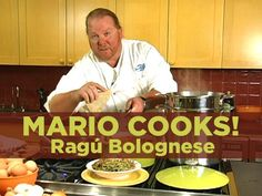 Mario Batali is a star chef with a TV show and restaurants in New York and Las Vegas. What's his recipe for success--and satisfying food? Mario sticks close to his Italian roots. Here, he prepares his own spin on ragu bolognese. Enjoy!