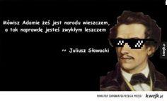 Słowacki vs Mickiewicz Haha, Tokyo, Poetry, Writing, Humor, Memes, Funny, Diy, Literature