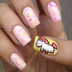 Unicorn Nails