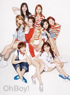 """Twice、グラビアでモデルに劣らないビジュアルをアピール""""9人9色のラブリー"""" - ENTERTAINMENT - 韓流・韓国芸能ニュースはKstyle"""