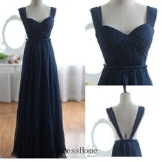 Hey, I found this really awesome Etsy listing at https://www.etsy.com/listing/166577428/a-line-open-back-long-royal-blue
