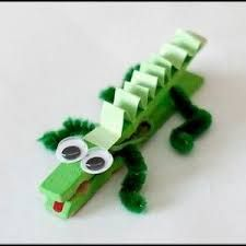 Image result for how to make crocodile heads for outdoors for children