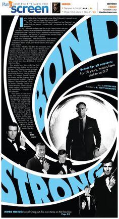 James Bond - one of my favorites!